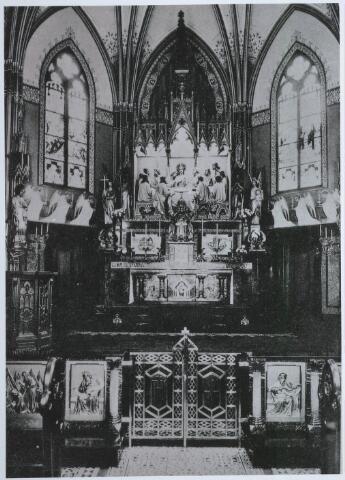 027542 - R.K. kerk in het moederhuis van de zusters van liefde van O.L.V. Moeder van Barmhartigheid aan de Oude Dijk.
