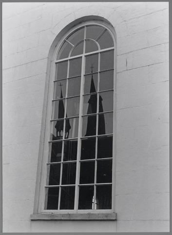 88707 - Kerkraam Protestantse kerk voorgevel, Raadhuisstraat 1, Terheijden.