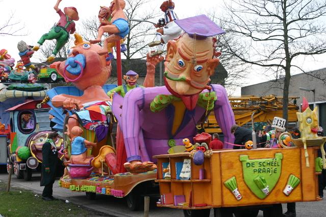 657223 - Carnaval. Optocht. D'n opstoet in Tilburg.