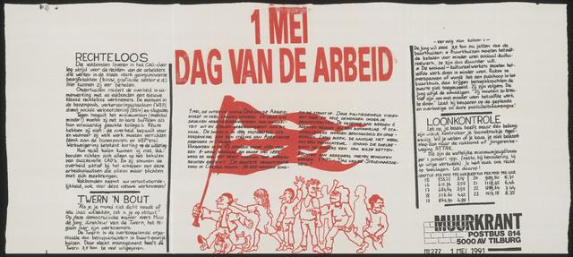 """668_1991_277 - 1 mei Dag van de Arbeid"""""""