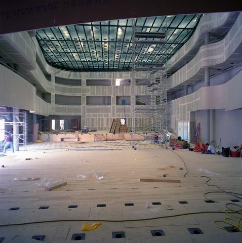 D18_3-cc39-005 - Concertzaal in aanbouw