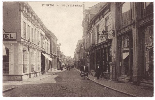 001168 - Heuvelstraat richting Heuvel ter hoogte van de Langestraat (links)