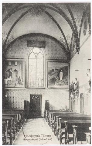 040042 - Achterzijde van de kapel van de novicen in het moederhuis van de zusters van liefde van O.L.V. Moeder van Barmhartigheid aan de Oude Dijk.