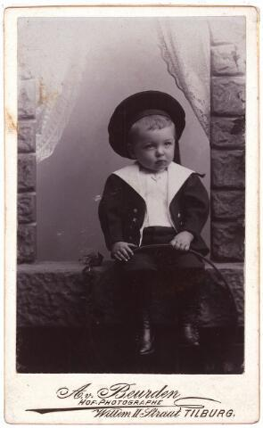 003522 - Jan de Beer, geboren te Tilburg, 11 september 1897, aldaar overleden op 11 maart 1900.