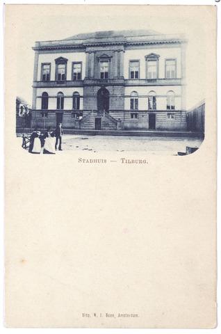 002331 - Voormalig gemeentehuis aan de Markt, thans Stadhuisplein.