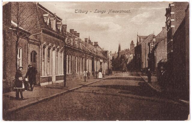001608 - Lange Nieuwstraat in oostelijke richting.