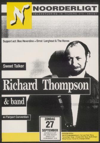 650288 - Noorderligt. Richard Thompson. Support act: Boo Heverdine / Ernst Langhout & The Hones