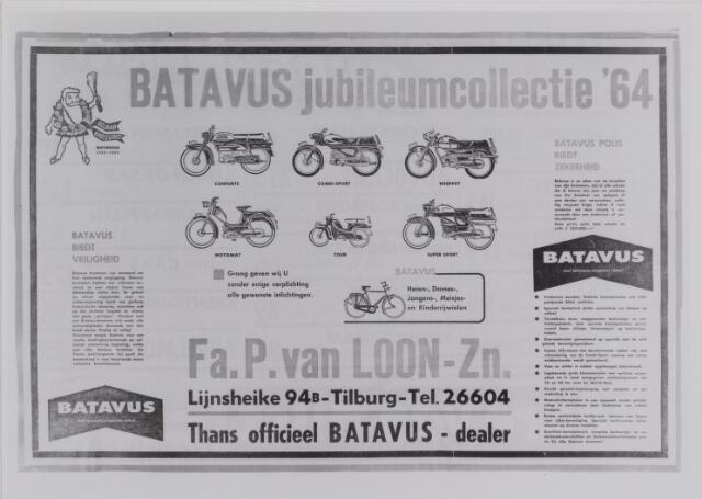 040239 - Advertentie van de firma P.van Loon uit 1964