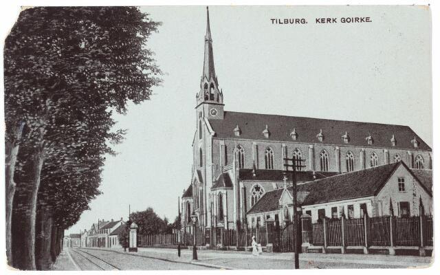 000590 - Mariaschool en kerk St. Dionysius aan de Goirkestraat.
