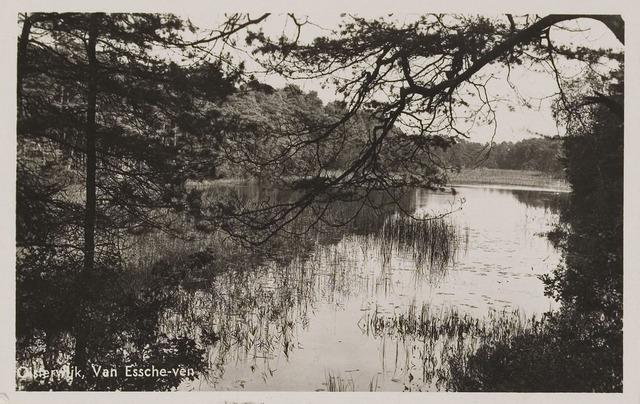 075195 - Serie ansichten over de Oisterwijkse Vennen.  Ven: Van Essenven. (Van Escheven)