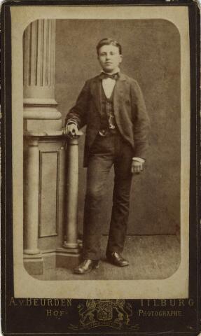 092203 - Gerardus Bogaers. Foto afkomstig uit collectie familiefoto´s van de familie Brouwers.