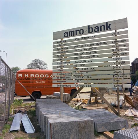 D-00793 - Bouw hoofdkantoor ABN Amro-bank Tilburg (Architect - Jos Bedaux)