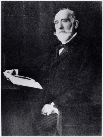 051669 - Onderwijs. Rijks H.B.S. Willem ll . Directeur Dr. J.H.H.HÜlSMANN van 1867-1873.