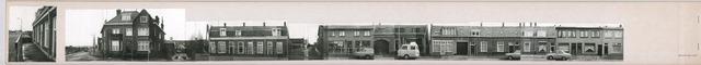 1625_0119 - Fotostrook; straatwand; panden aan de linten en hoofdverbindingswegen in het centrum van de stad; Hoevenseweg 2-98; foto's werden tussen 1976 en 1985 gemaakt. (foto gemaakt in periode 1976-1985)
