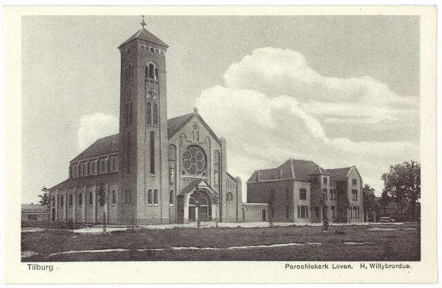000414 - Parochiekerk Loven,  H. Willibrordus, aan de Enschotsestraat,