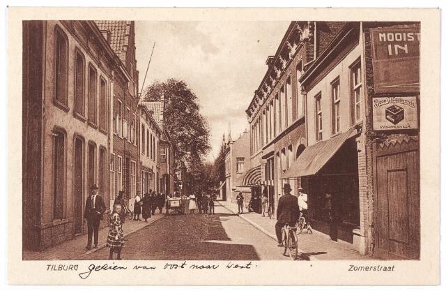 001200 - Heuvelstraat, voorheen Zomerstraat tussen de Nieuwlandstraat en de Nederlands-Hervormde kerk