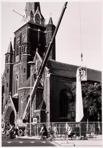 036063 - Stadhuisplein.  Gedenknaald Obelisk.