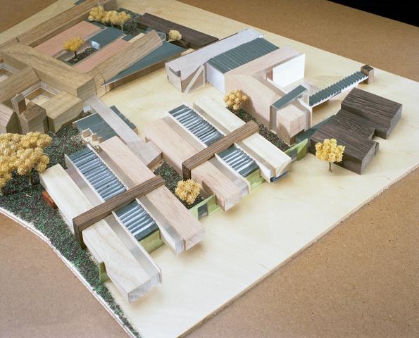 D-001026-1 - Maquette Rooi Pannen( Architectenbureau Bollen)