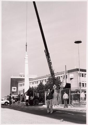 036058 - Stadhuisplein. Gedenknaald Obelisk.