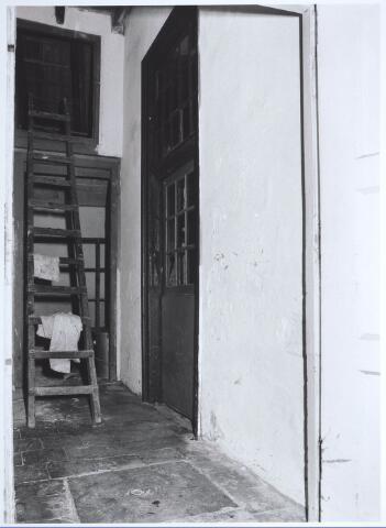 027754 - Oude Markt 8. Apotheek Bijvoet. Het achterhuis. Detailopname