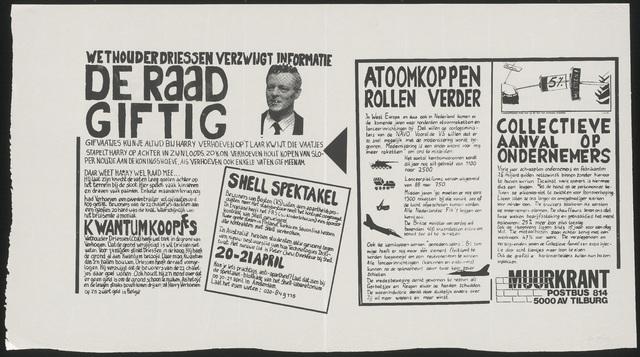 668_1989_239 - De raad giftig/Wethouder Driessen verzwijgt informatie