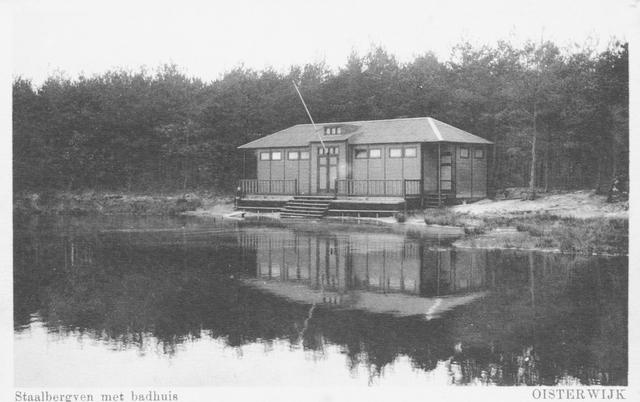 652317 - Oisterwijk Staalbergven met badhuis
