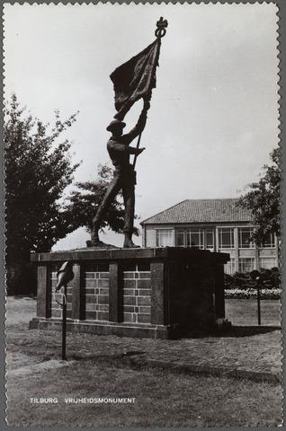 010158 - Oorlogsmonument. Monument prinses Irenebrigade aan de Edisonlaan.