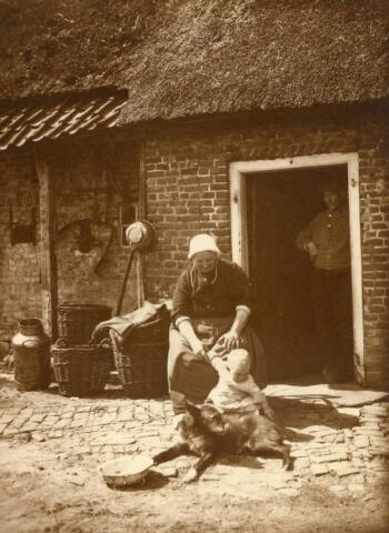 600849 - Kasteel Loon op Zand. Families Verheyen, Kolfschoten en Van Stratum