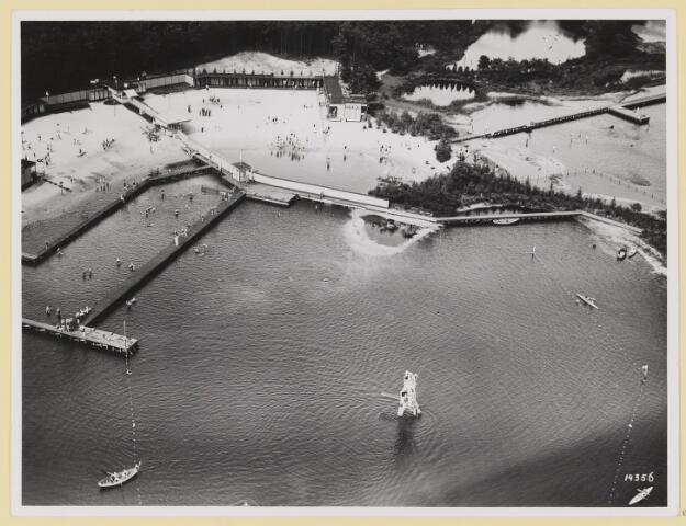 074852 - Staalbergven, gebruikt als zwembad in bbeheer bij de stichting voor recreatie sport en lichamelijke opvoeding. gepacht van natuurmonumenten.