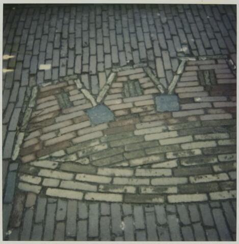 """078806 - 03-10-1985 Dorpstraat 14 Logo """"de Kroon"""""""