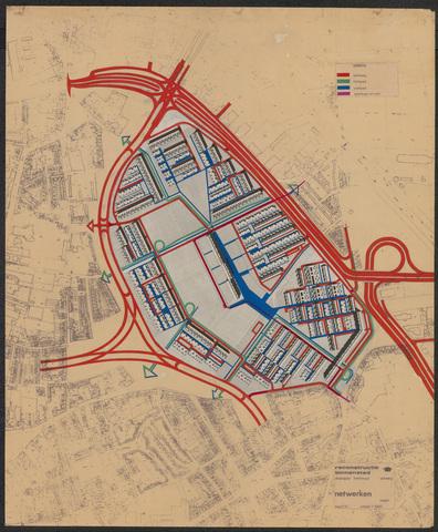 652555 - Reconstructie binnenstad. Studieplan Hoefstraat. Netwerken. [Diamantkruising]