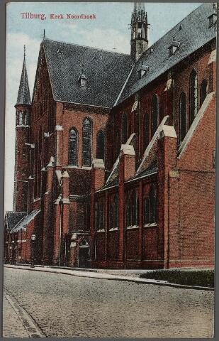 010228 - Kerk van het H. Hart (Noordhoek) aan de voormalige Industriestraat, nu Hart van Brabantlaan.