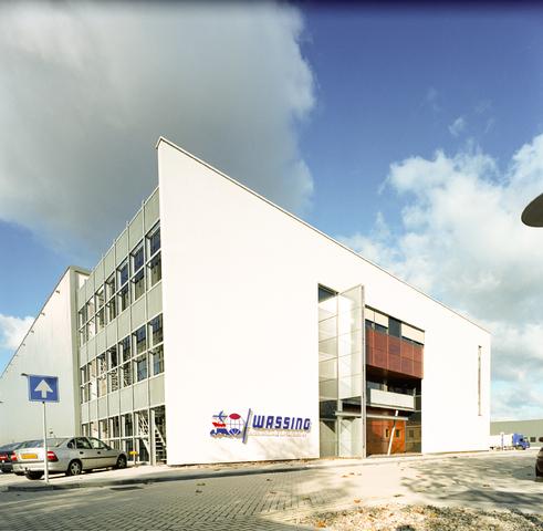 D-000713-1 - Bedrijfspand van het voormalige Tilburgse transportbedrijf Wassing aan de Siriusstraat (Bouwproject Remmers-van Tartwijk 1997-1999)