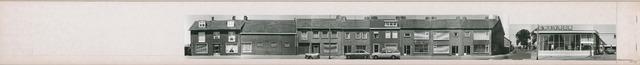 1625_0222 - Fotostrook; straatwand; panden aan de linten en hoofdverbindingswegen in het centrum van de stad; Oerlesestraat even nrs; foto's werden tussen 1976 en 1985 gemaakt.