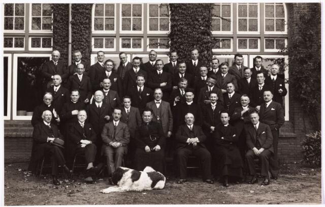 008667 - Retraite van Tilburgse werkgevers in retraitehuis Loyola