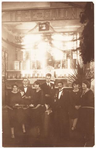 """052110 - Onderwijs. Katholieke  Studie en debatingclub """"Lumen et Veritas"""". Fancy Fair voor het Beursgebouw van 3 t/m 10 juni 1925."""