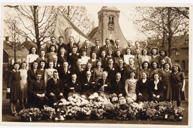 052369 - Muziekleven. Hasselts Gemengd Kapelle Koor ± 1950.