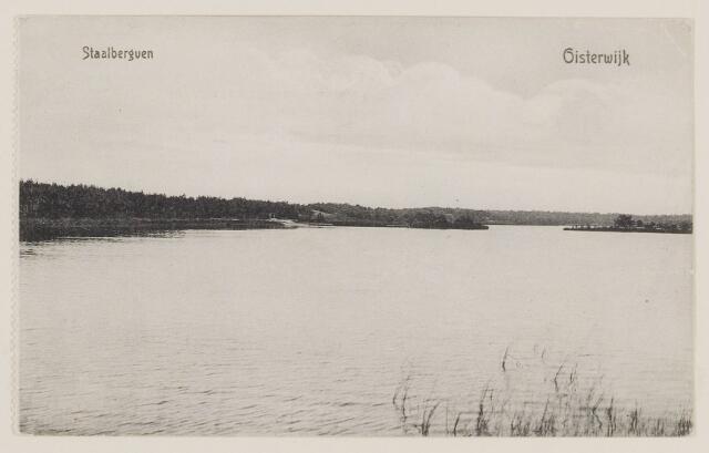 075267 - Serie ansichten over de Oisterwijkse Vennen.  Ven: Staalbergven.
