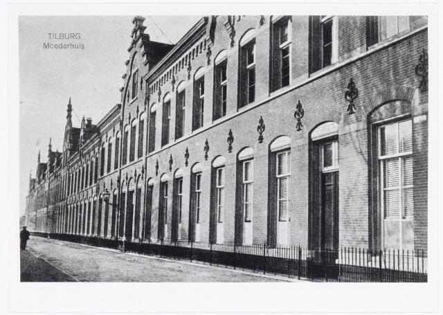 040039 - Voorgevel moederhuis van de zusters van liefde van O.L.V. Moeder van Barmhartigheid aan de Oude Dijk.