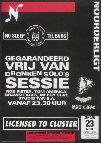 650318 - Noorderligt. No sleep ´Til burg. Drie affiches voor 1 avond