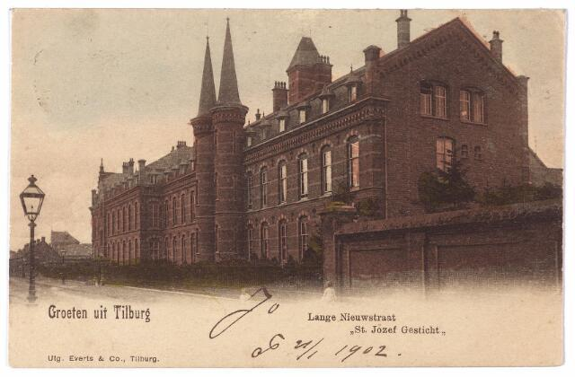 001597 - Lange Nieuwstraat,  St. Josephgesticht.