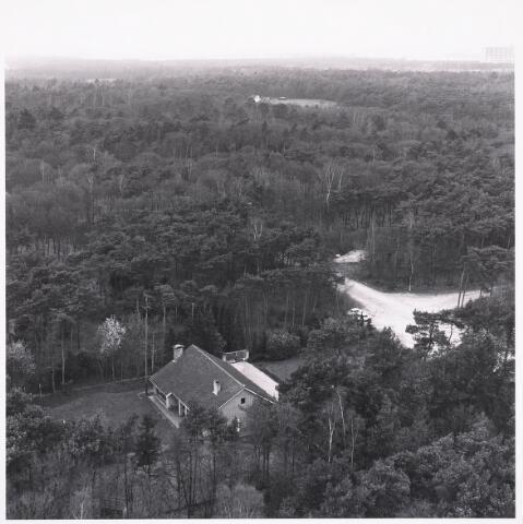036434 - Panorama van Tilburg vanaf de Hogeschool.