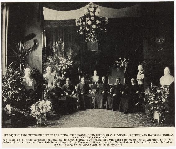 009440 - Kloosters. Fraters van Tilburg. 50-jarig vestigingsfeest van de Tilburgse fraters te Den Bosch