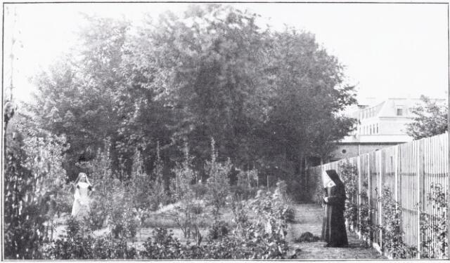 051089 - Bloementuin, waarvan de zusters karmelitessen kunnen genieten van het St.Jozefhuis-St.Anna.