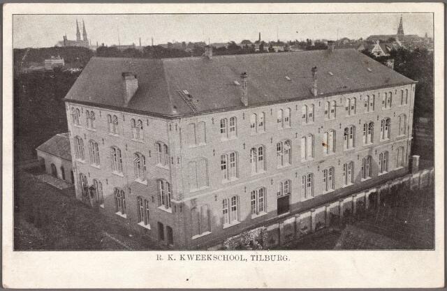 010308 - Onderwijs. r.k. kweekschool van de fraters, afgebroken in 1985