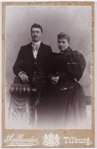 006462 - Lambert de Beer (1867-1931) en Theresia Eras (1870-1957).