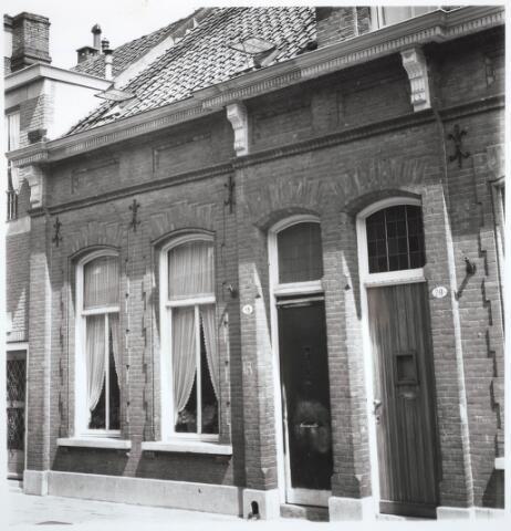 031789 - Noordstraat. Deze huizen zijn gesloopt i.v.m. de doorbraak Spoorlaan-Hart van Brabantlaan.