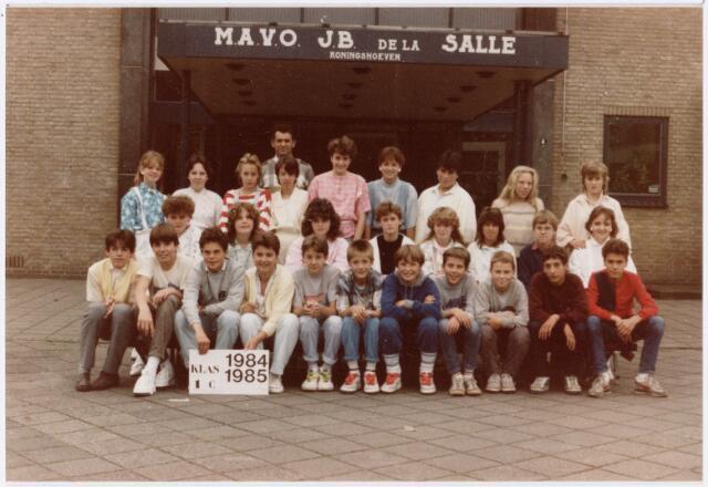 051710 - Middelbaar Voortgezet Onderwijs. MAVO St. Jean Baptiste de la Salle. klas 1c. Schooljaar 1984-1985