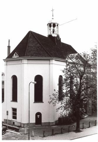 021866 - Nederlands Hervormde kerk aan de Zomerstraat, thans Heuvelstraat. Het werd gebouwd in 1822 - 1823