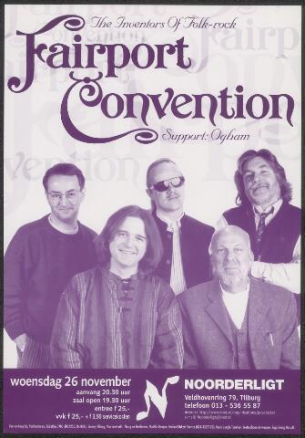 650345 - Noorderligt. Fairport Convention. Support act: Ogham